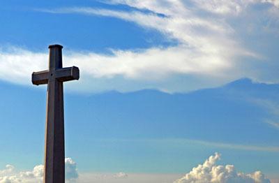 kors mot himmel